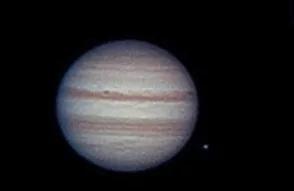 Jupiter cu telescopul Skymax 90mm si EQ1