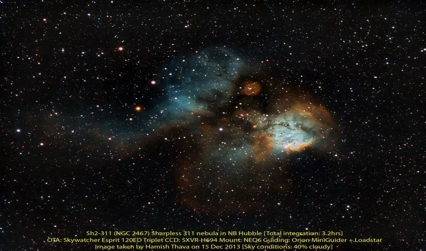 Nebuloasa Sharpless 311